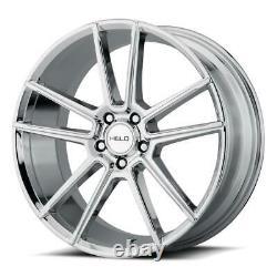 18 inch 18x8 HELO HE911 White wheel rim 5x112 +40