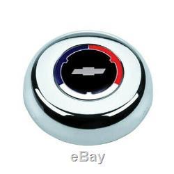 1960 69 C10 C20 C30 K10 K20 Grant Wood Steering Wheel Red/ White Blue cap 15