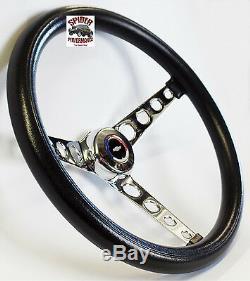 1967 Camaro steering wheel Red White Blue Bowtie 14 1/2 Classic Chrome
