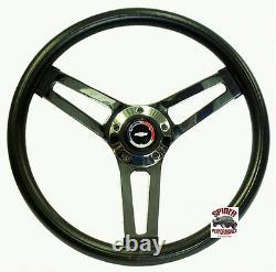 1970-1973 Chevy CK pickup Blazer steering wheel Red White Blue Bowtie 14 1/2