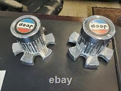 1977-1983 JEEP CHEROKEE CHIEF Factory OEM Wheel Center Rim Cap Cover 6 Lug NICE