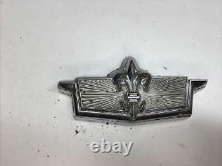 1978 Chevy Caprice Classic Trunk Lock Cover Emblem Flip Deck LID Gm Flipper