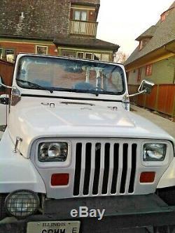 1992 Jeep Wrangler Chrome