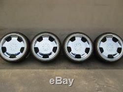 20 LORINSER D93 CHROME WHEELS RIMS BMW MERCEDES BENZ With VOGUE WHITE WALL TIRES