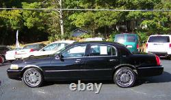 2007 Lincoln Town Car 1-OWNER 39K SIGNATURE LIMITED MOONROOF NEW WHITE WALL'S