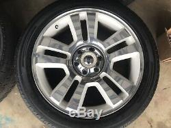 2008 F-150 Limited Edition Wheels And Tires Ford Rims F150 22 White And Chrome