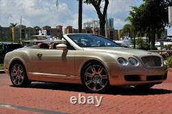 2009 Continental GT GTC Only 24K Miles