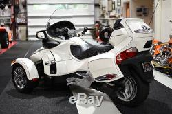 2012 Can-Am SPYDER LIMITED CHROME WHEELS CORBIN HEATED SEATS
