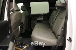 2018 Ford F-150 LARIAT 4X4 3.0 V6 TURBO DIESEL 4WD SUPER CREW CAB MSRP $61215