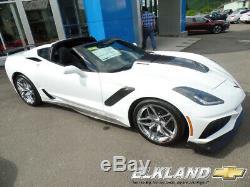 2019 Chevrolet Corvette ZR1 Coupe Automatic Chrome Wheel MSRP $128185