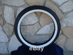 21 X3.5 80 Spoke Front Wheel 21 Avon Cobra White Tire Kit Harley Touring 00-07