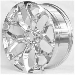 22 WHEELS FOR CADILLAC ESCALADE ESV EXT 1 PIECE (6x139.7)