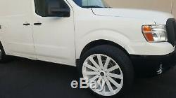 22 X 9 Inch Velocity V12 White Wheels fit Suburban Escalade Tahoe Sierra Denali
