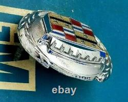 76 77 78 79 Cadillac Seville Trunk Lock Cover Crest Emblem Flip Deck LID Gm