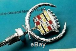 80 92 Cadillac Fleetwood Brougham New Hood Ornament Emblem Gm Trim
