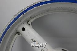 97-00 Suzuki SRAD Gsxr600 Front Rear Wheel Back Rim White 0809