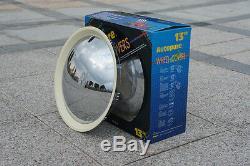 Baby Moon Chrome-White Wall Hubcap wheel cover 2083CW trim Rim Chrome White