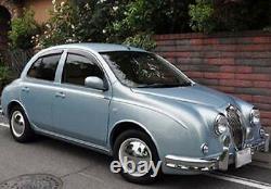 BabyMoon Chrome-White Wall hubcap 2084CW wheel cover 4PCS per set