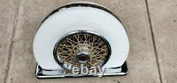 Cadillac Eldorado E&G Classic Continental Chrome 5th Wheel Bumper Kit WHITE
