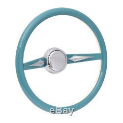 Custom Con2r Hot Street Rod Series One Dearborn Steering Wheel 15 O. D