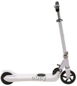 Denver SCK-5300 White Kids Electric Scooter 5 Wheels, Foldable, Kick-to-Start