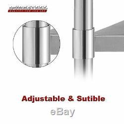 Durasteel Stainless Steel Work Table 4 Caster Wheels Various Sizes
