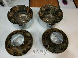 Ford F350 f450 5C34-1A096-XC 8 Lug OEM Wheel Center Cap Chrome DUALLY