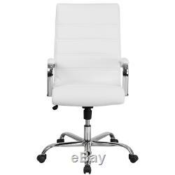 High Back Swivel with Wheels Ergonomic Executive Chair