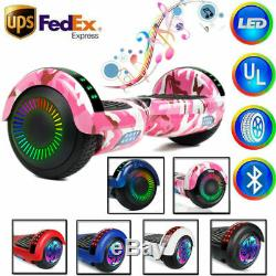 Hoover Board Hoverboard Hoverheart UL2272 Bluetooth Speaker Scooter 2-Wheel Toy