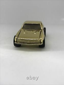 Hot Wheels 67 Camaro 1995 FAO Schwarz II Gold Chrome White Interior Rare