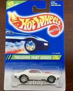 Hot Wheels CUSTOM 1995 Treasure Hunt 67 Camaro Chrome R Wheel Version Replica