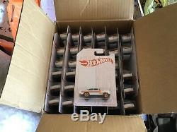 Hot Wheels Case of 72 Pearl and Chrome 55 Chevy Bel Air Gasser Awesome