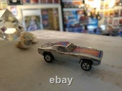 Hot Wheels Chrome Dixie Loose Challenger from Top 40 Set Looks to be Mint