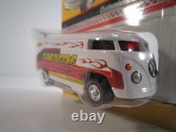 Hot Wheels HW HWC Volkswagen VW DRAG Bus CHARITY WHITE FLYING CUSTOMS 1 of 1000