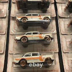 Hot Wheels Pearl and Chrome 52nd Anniversary 55 Chevy Bel Air Gasser Lot Of 72