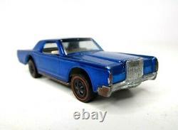 Hot Wheels Redline 1968 Custom Continental Mark III Blue White Interior