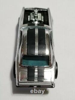 Hot Wheels Redline 1970 HK Chrome HEAVY CHEVY Club Car Dark Interior Excellent