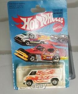 Hot Wheels Redline Era Super Van Super Chrome Look Vintage Rare Custom Van