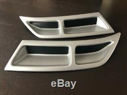 Imitating Exhaust silver for Skoda Octavia A7 MK3 5E5 5E3 NL3 NR3 2012-2019 GR