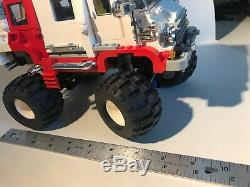 LEGO Model Team Big Foot 4x4 5561 68.8x40 Complete Tire Wheel Technic Chrome