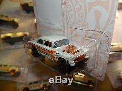 Lot 36 2020 Hot Wheels 1955 ('55) CHEVY BEL AIR GASSER Pearl and Chrome Series