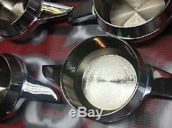 Lowrider Hydraulics Impala wire wheel knockoffs, White Chrome Impala Chips 4 Pcs