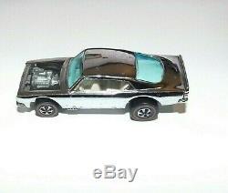 MINT Hot Wheels Original Redline Car 1969 CHROME KING KUDA white interior