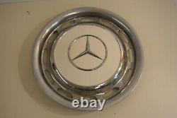 Mercedes Benz OEM Vintage 15 Inch Wheel Cover Hub Caps Hubcap 1970s 1980s