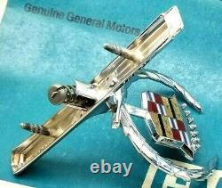 Mint 73 78 Cadillac Eldorado Hood Ornament Emblem Oem Gm Convertible Trim