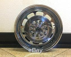 Motorcycle Rear Wheel 8.5x18 Harley Chopper Fatboy Chopper W Hub And Brake Rotor