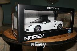 N. I. B. Norev Lamborghini Gallardo LP560-4 Spyder Chrome Wheels Only 1 On Ebay