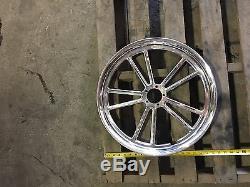 New Custom White Motorcycle Rim Front Wheel Circle 2.15x19 Chopper