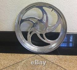 New Custom White Motorcycle Rim Front Wheel Circle 3.5x17 Chopper