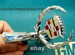 Nos 73 78 Cadillac Eldorado Hood Ornament Emblem Oem Gm Convertible Trim